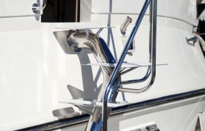 Stainless boat stairs Australian made