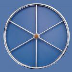 Stainless steel boat steering wheel made in Australia