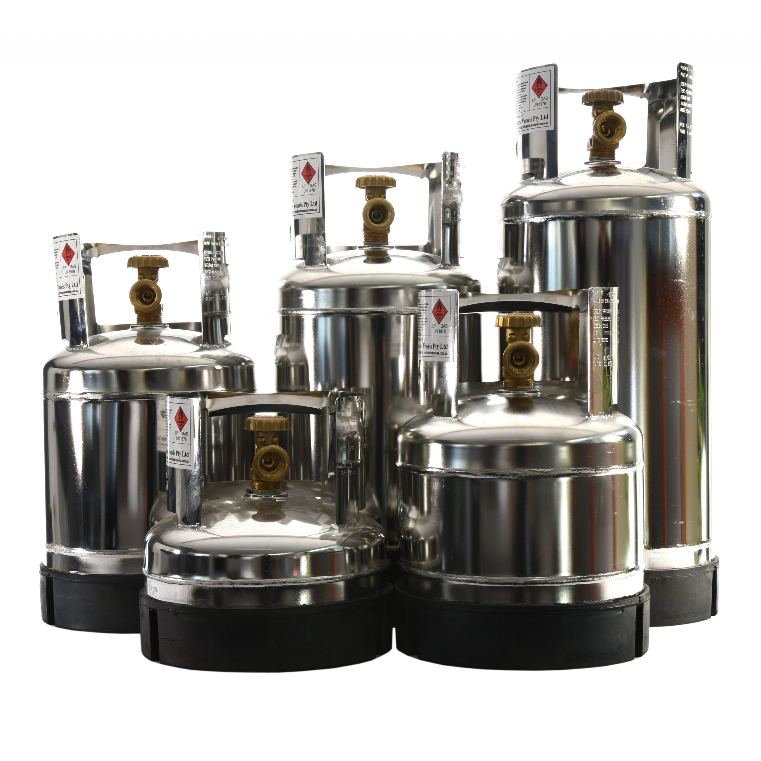Stainless steel Gas Bottles