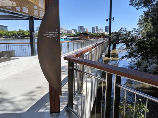 Queen's Wharf stainless steel balustrade