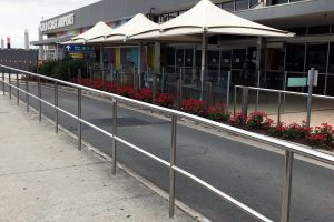Stainless steel commercial fabrication, Gold Coast Airport
