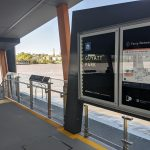 Guyatt Park Ferry Terminal, Brisbane stainless steel balustrade