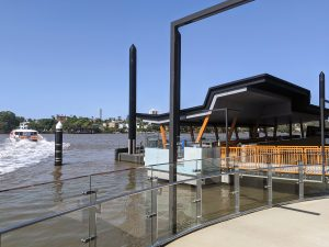 Guyatt Park Ferry Terminal, Brisbane stainless steel balustrade fabrication