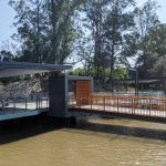 Guyatt Park Ferry Terminal, Brisbane commercial stainless steel balustrade