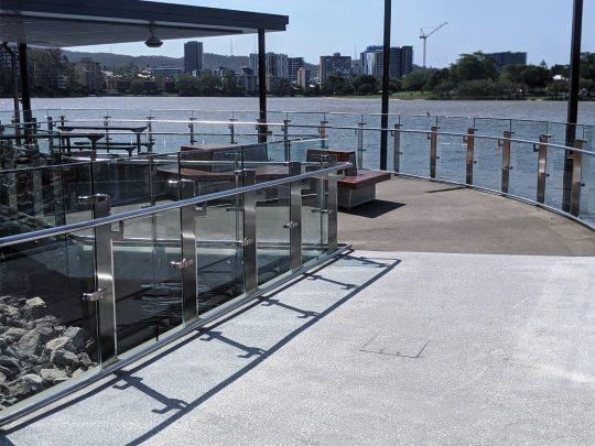 Guyatt Park Ferry Terminal, Brisbane stainless steel balustrade-4