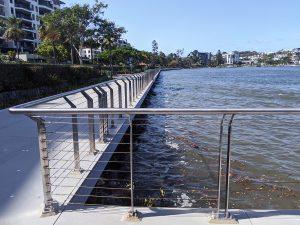 Mariners Reach, Brisbane stainless steel balustrad