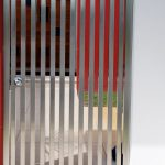 Stainless Steel custom fabricated panelled side gate
