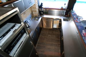 Residential stainless steel kitchens and bar Australia