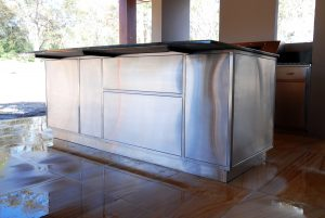 Residential stainless steel benches Australia