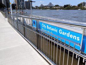 Botanical Gardens, Brisbane commercial stainless steel balustrade fabricator