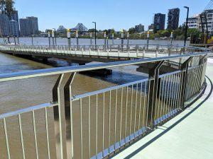 Botanical Gardens, Brisbane commercial stainless steel balustrade project