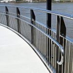 Botanical Gardens, Brisbane stainless steel balustrade fabrication
