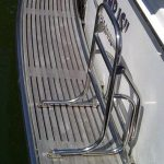 Stainless Accessories, Boat Swim Ladder on Duckboard