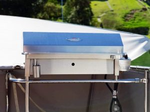 Deluxe gas stainless boat and marine bbq Australia