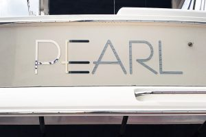 Stainless Boat Name and Letters Australia - Pearl