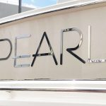 Stainless Boat Name and Marine Letters Australia