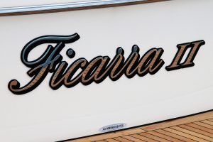 Stainless Boat Name and Marine Letters Australian made