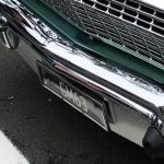 Stainless Number Plate Surround Australia