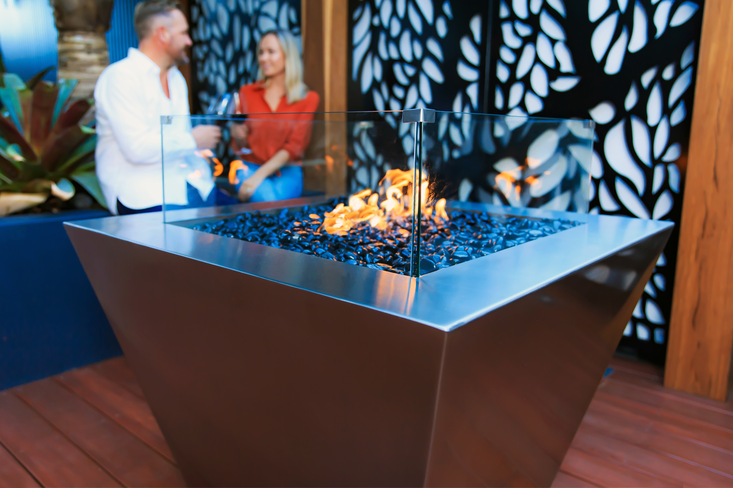 outdoor gas fire pits Australia