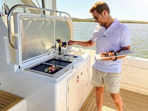 Stainless Steel BBQ Australia - Epicure Electric Boat BBQ