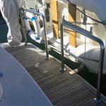 Stainless duckboard boat rail fabrication Australia