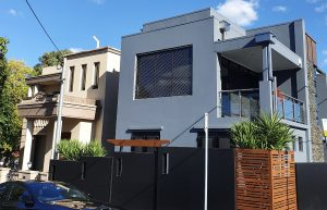 Stainless fall protection architectural mesh infill panel, Brisbane