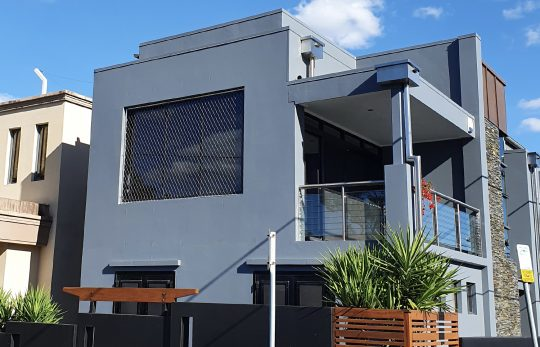 Stainless fall protection mesh infill panel, Brisbane