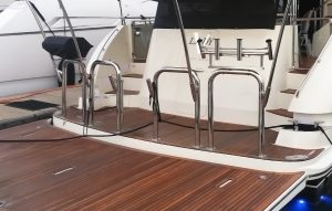 Stainless steel boat rail fabrictation