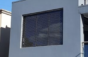 Stainless steel fall protection mesh infill panel, Brisbane