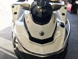 Custom Sea Doo jet ski bow rail