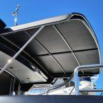 Custom slide out Warren Yacht awning