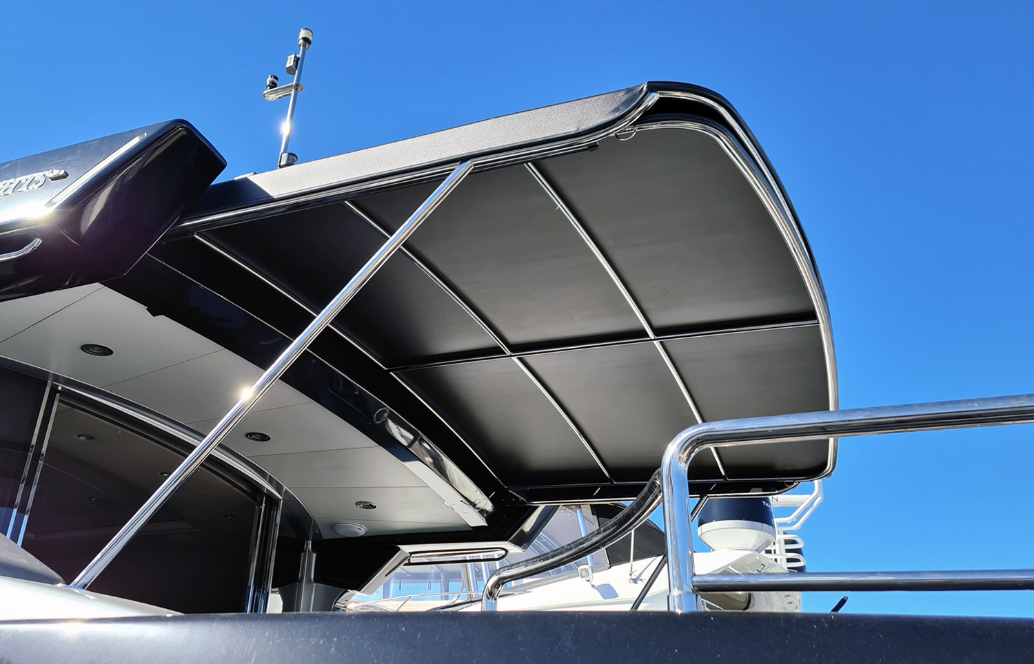 Custom slide out Warren Yacht awning