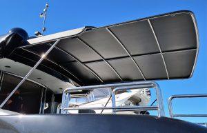 Custom slide out boat awning
