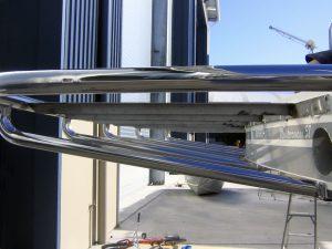 Stainless duck board for boat Australia