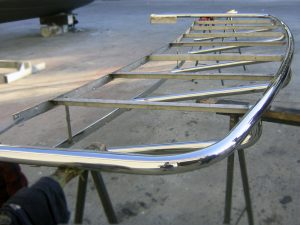 Stainless duckboards for boats