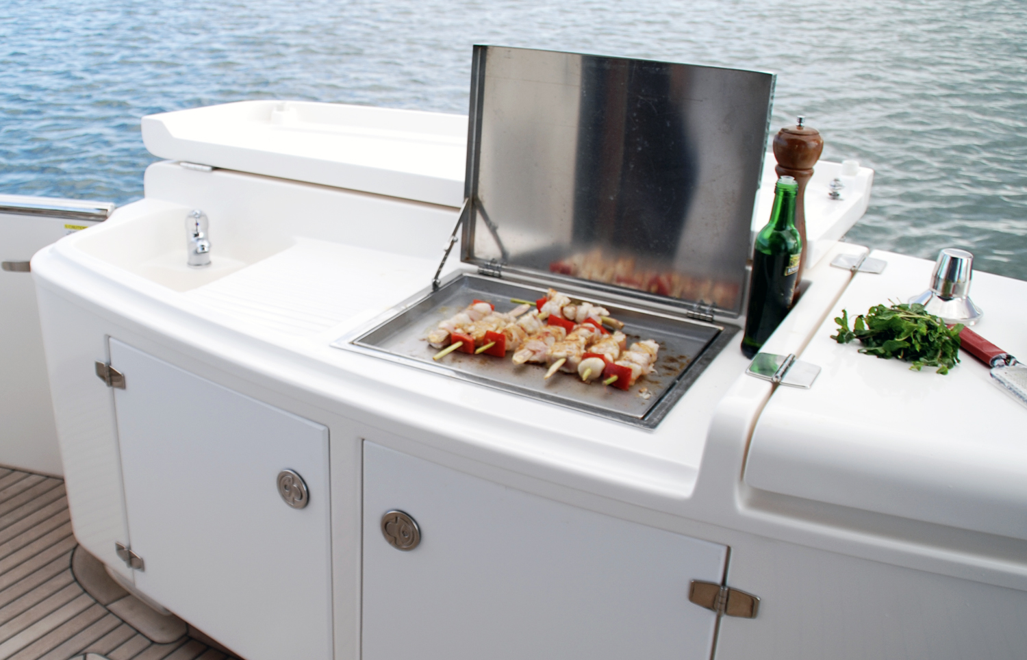 Cookout marine stainless boat bbq Australia