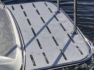 Custom duckboard stainless for boat Australia