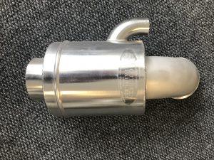 Custom marine exhaust fabrication stainless