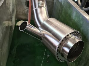Marine exhaust systems Australia electropolished