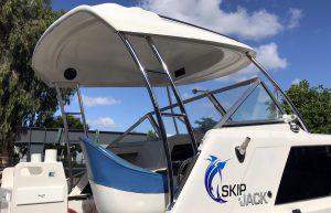 Targa bar for boats