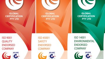 We are proudly ISO 9001 (Quality), 45001 (Safety) & 14001 (Environmental) certified