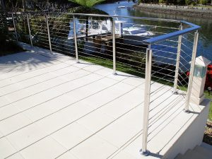 stainless steel wire balustrade