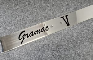 Laser Etching Stainless Steel Boat Name Plate