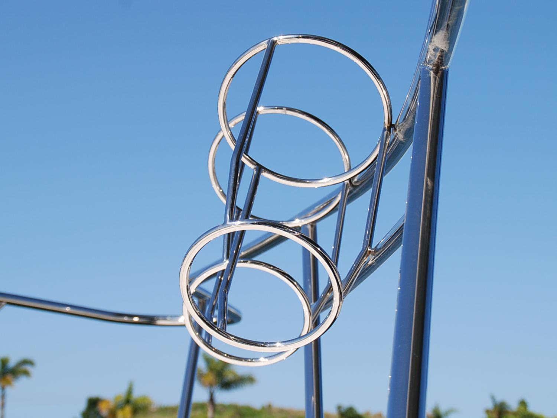 Stainless steel fender baskets australian made
